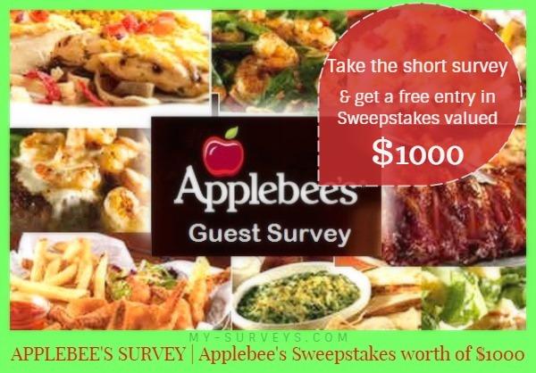 Applebees Sweepstakes