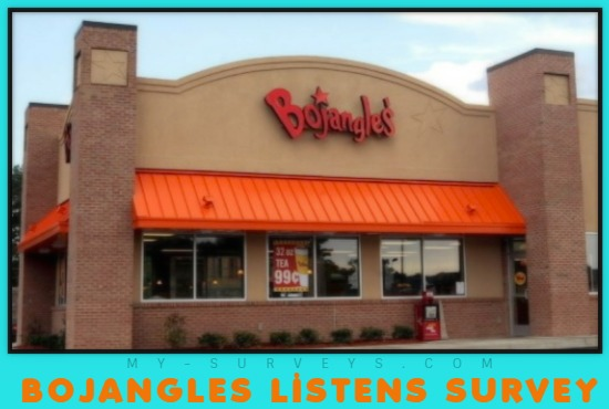 BOJANGLES LISTENS SURVEY
