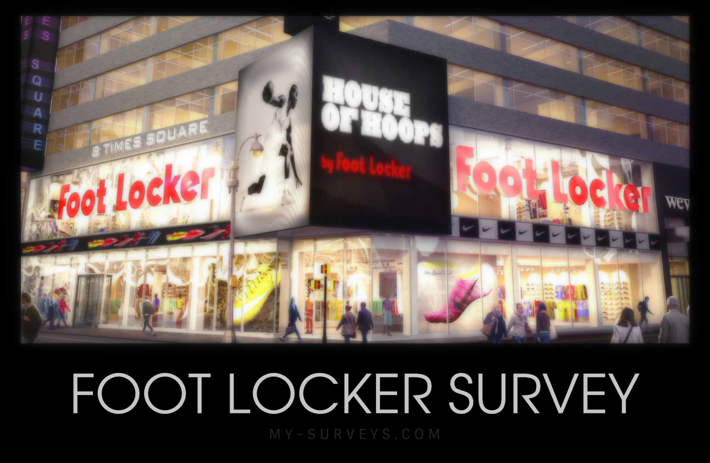 Foot Locker Survey