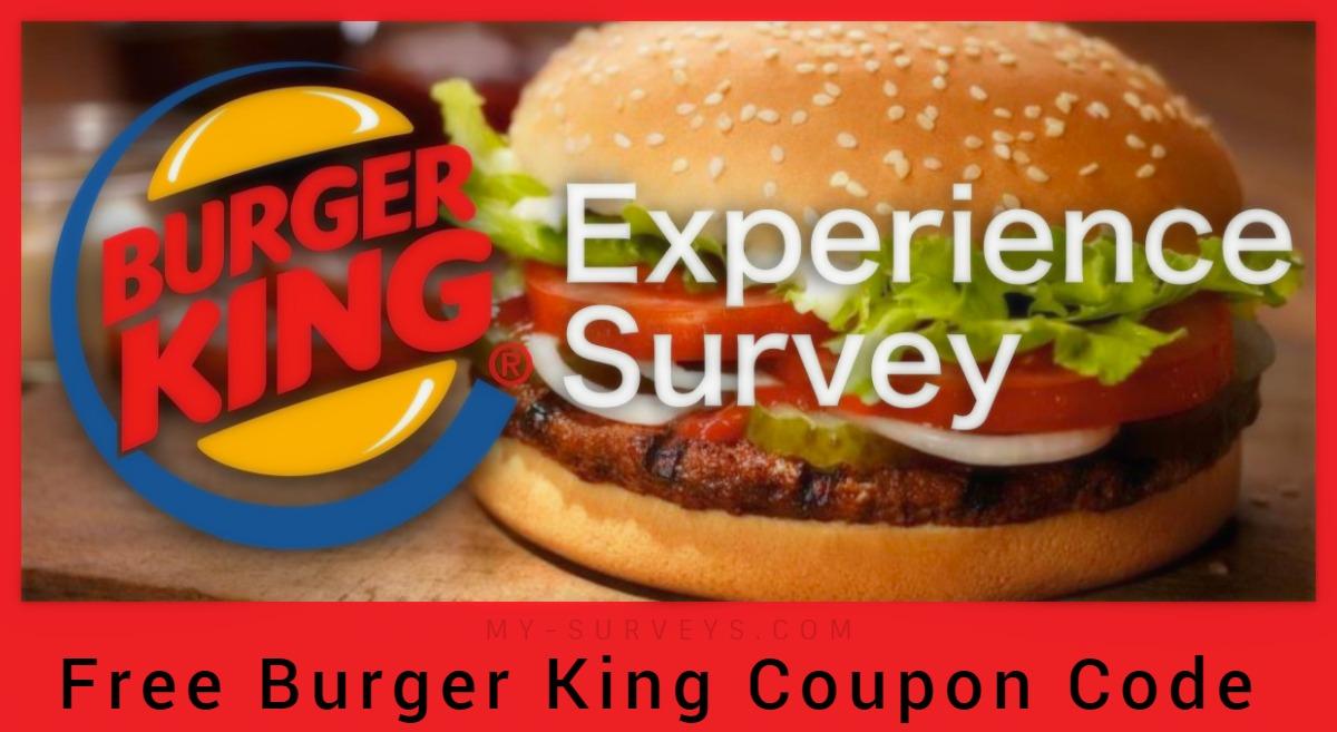 MyBKExperience Burger King Survey