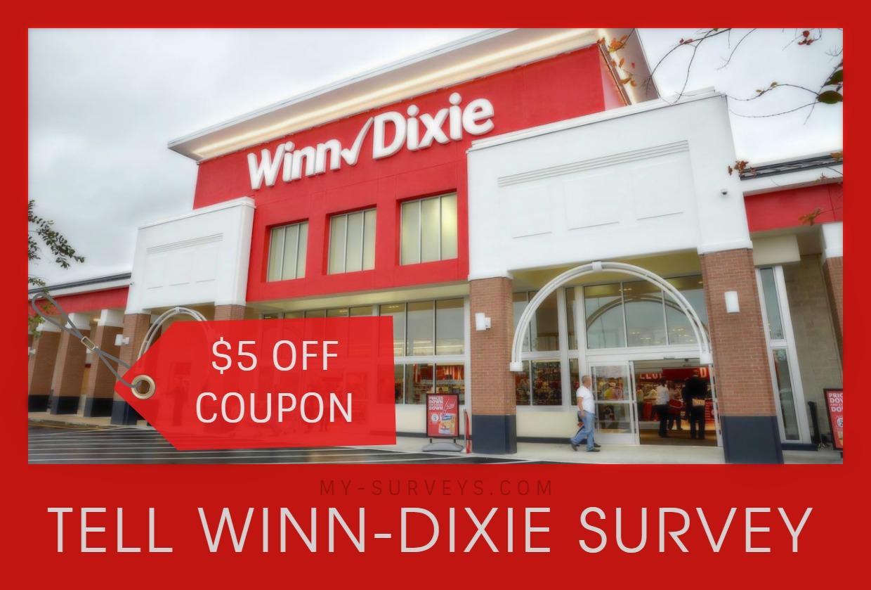 Tell Winn-Dixie Survey
