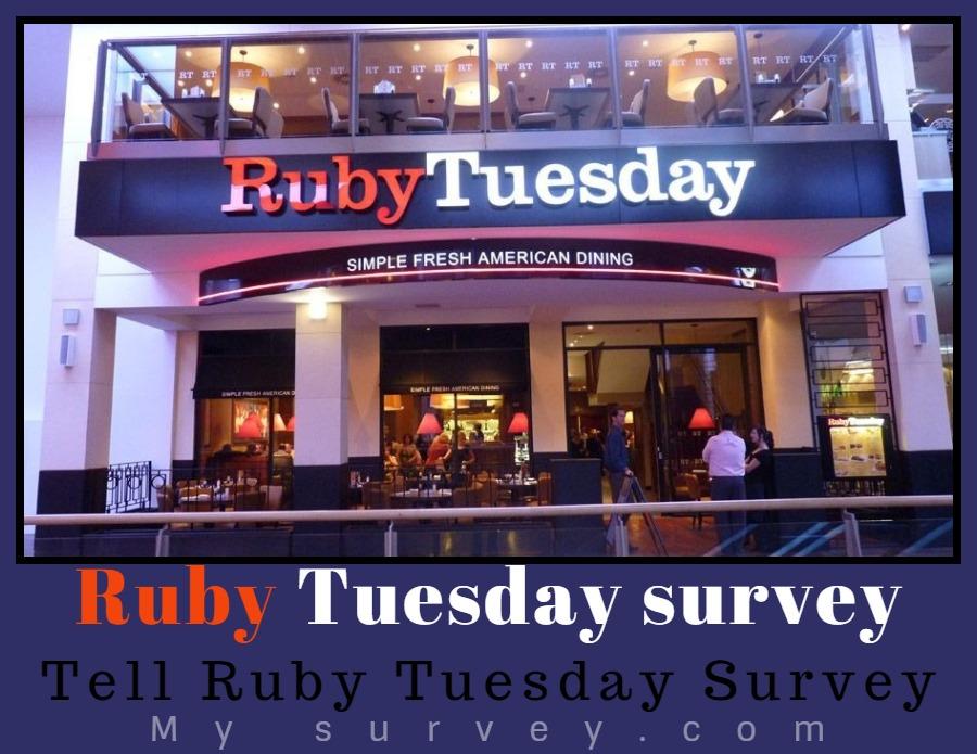 ruby tuesday Survey