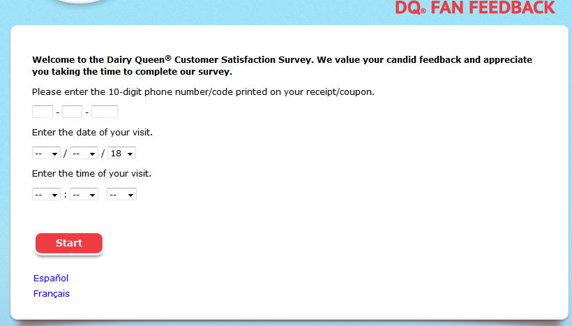 Steps to perform DQ Fan Feedback Survey & Get DQFanSurvey Coupon