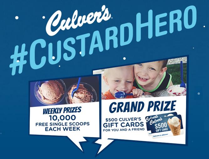 culvers reward