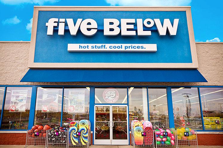five-below storefront