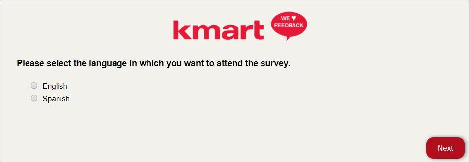 kmart survey 1