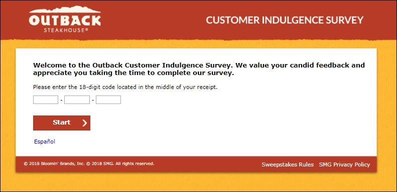 outback survey
