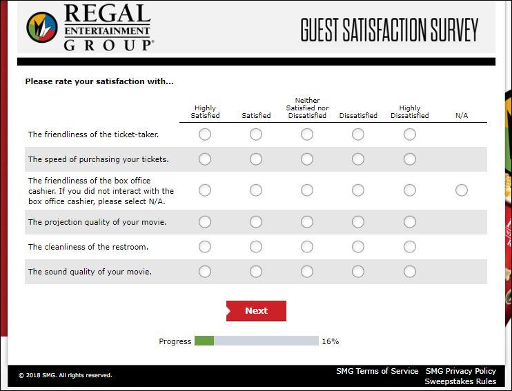 regal survey 3