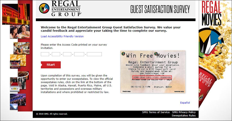 regal survey