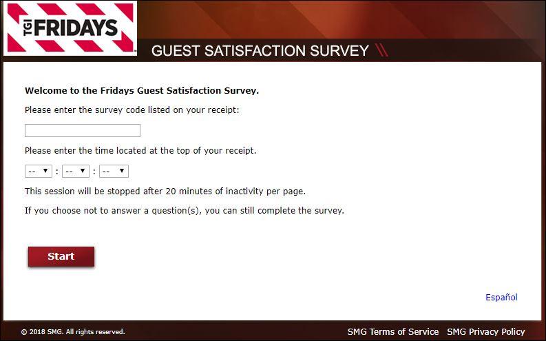 Fridaysvisit Survey