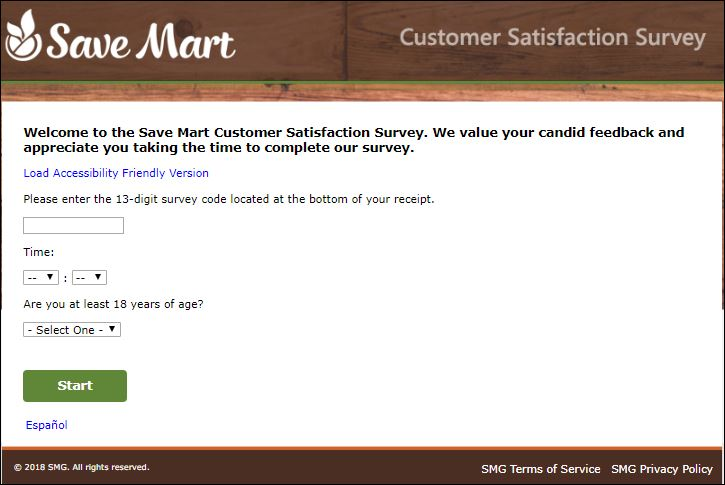 save mart survey