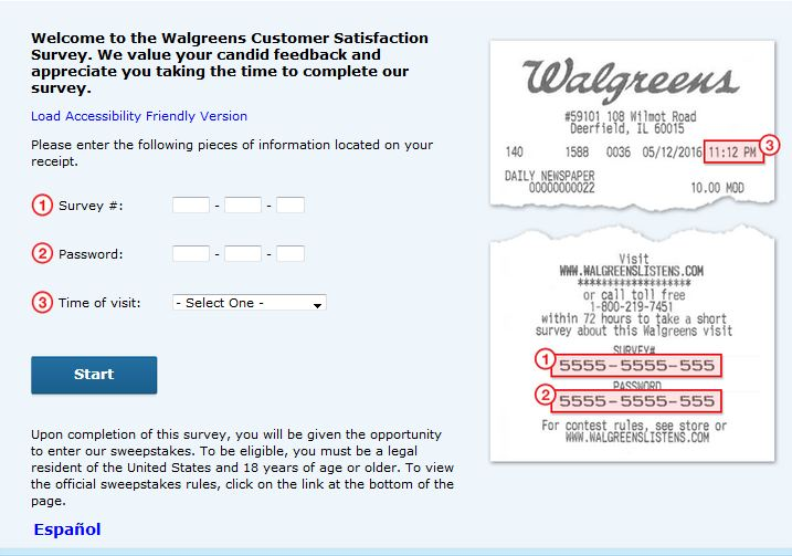 How To Join Walgreens Customer Survey
