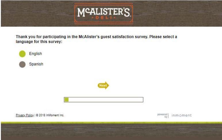 Talk To McAlister's – TalktoMCAlisters.Com McAlister's Survey Free ...