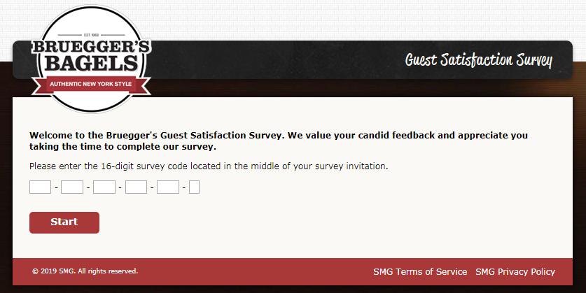 Bruegger's Customer Survey