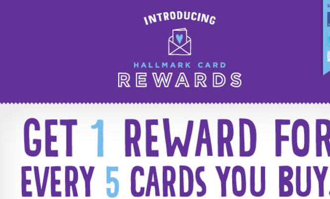 Hallmark Card Rewards