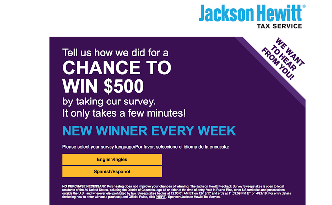 TellJH Survey - Rewards