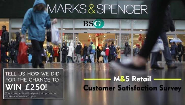 Marks & Spencer Survey $250