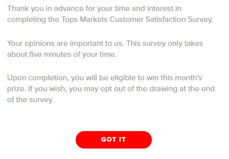 Top Friendly Market Survey