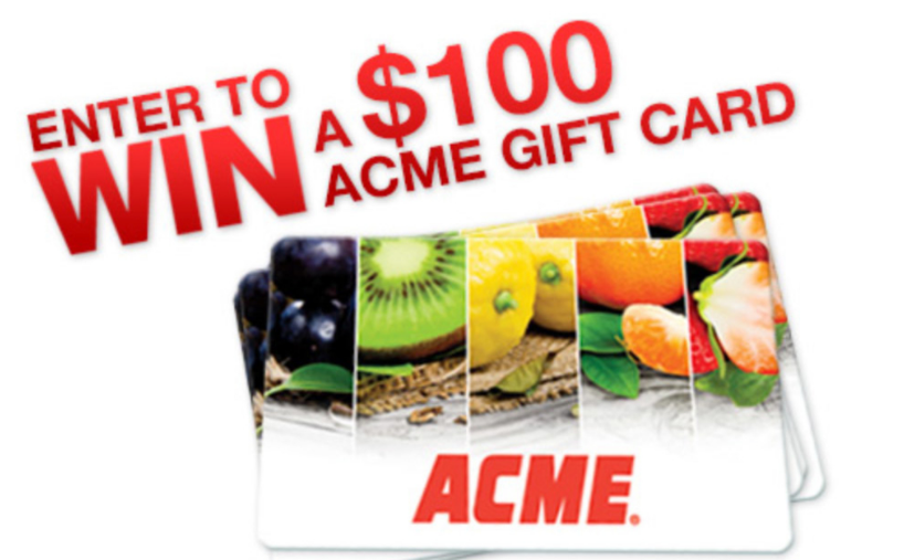 ACME Customer Survey Rewards