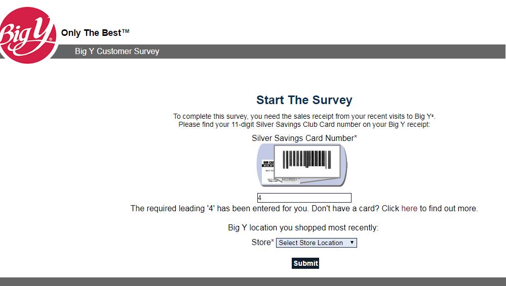 Big Y Food Customer Survey