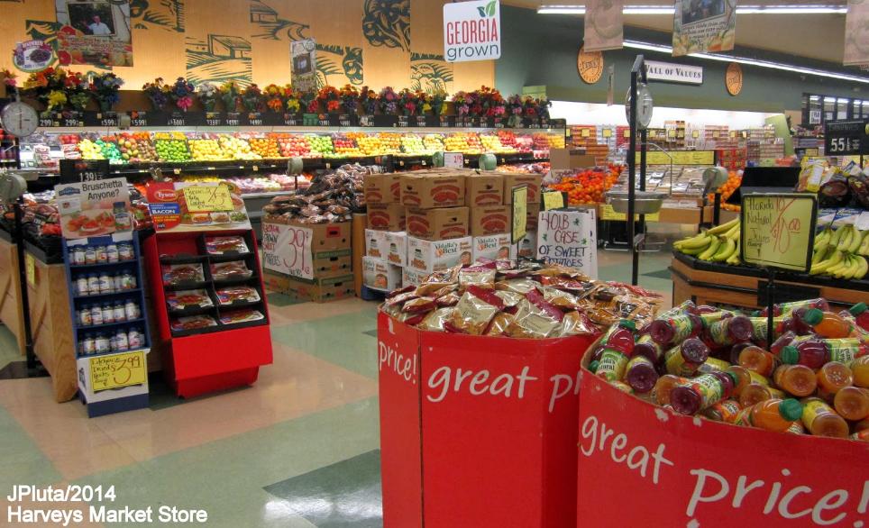 Harveys Supermarket Survey