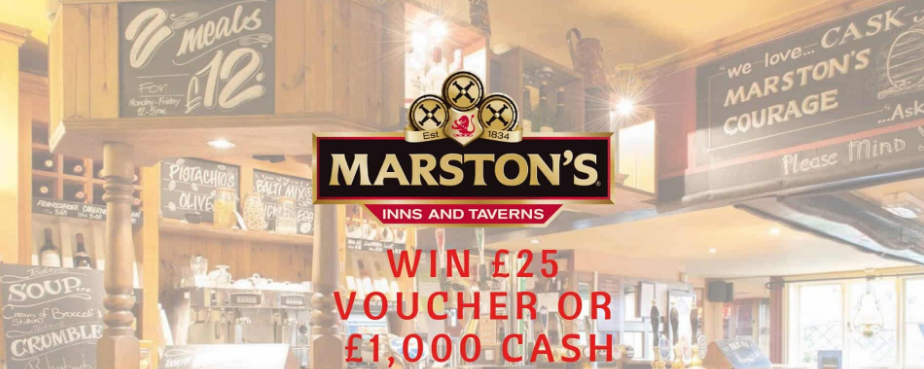 Marston's Inns and TavernsRewards