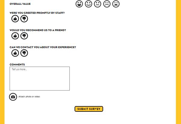 Which Wich Online Survey