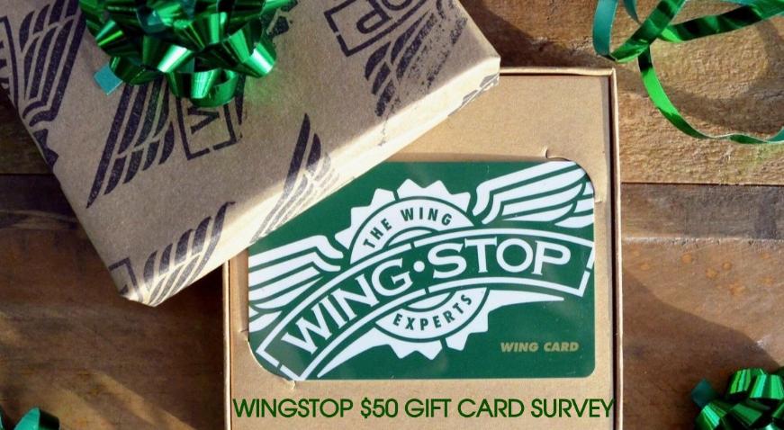 Wingstop Survey Rewards