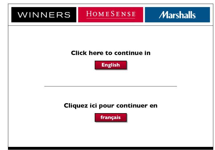Winners Homesense Survey