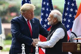 India-US trade relation is getting much better and its time to improve the same by asking return favor from U.S. for lifting ban of hydroxychloroquine.