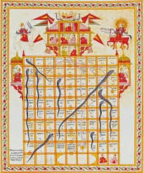Snakes and Ladders game was inspired from an Indian game called Mokshapat