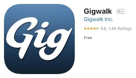 Gigwalk money earning app