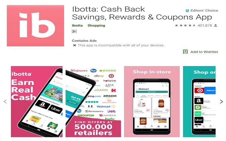 Ibotta best money earning app