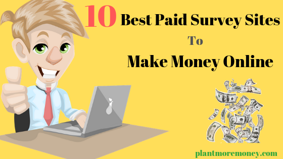 Top 10 Best Paid Survey Sites To Make Money Online (Without Investment)
