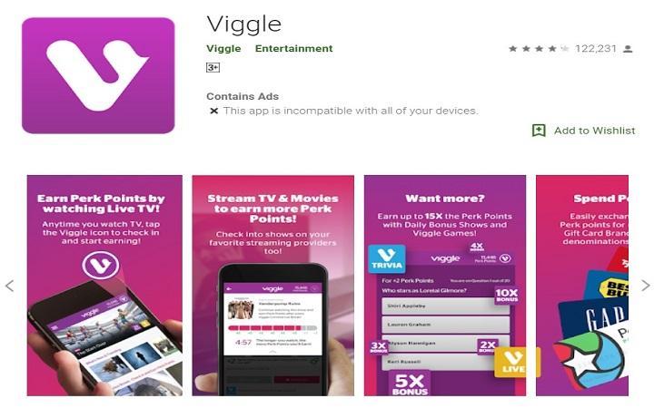 VIGGLE money making app