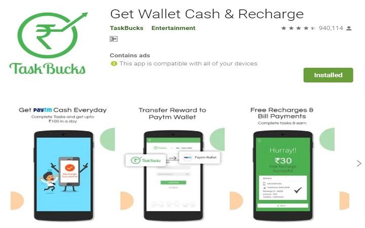 earn money with TaskBucks app
