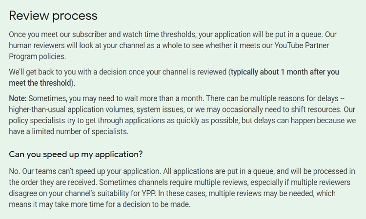 YPP Review process