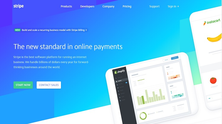 Stripe payment solution