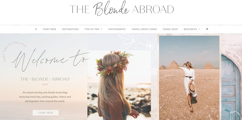 The blonde abroad - A travel blog for women