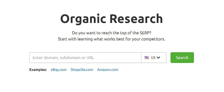 organic research by SEMrush-min
