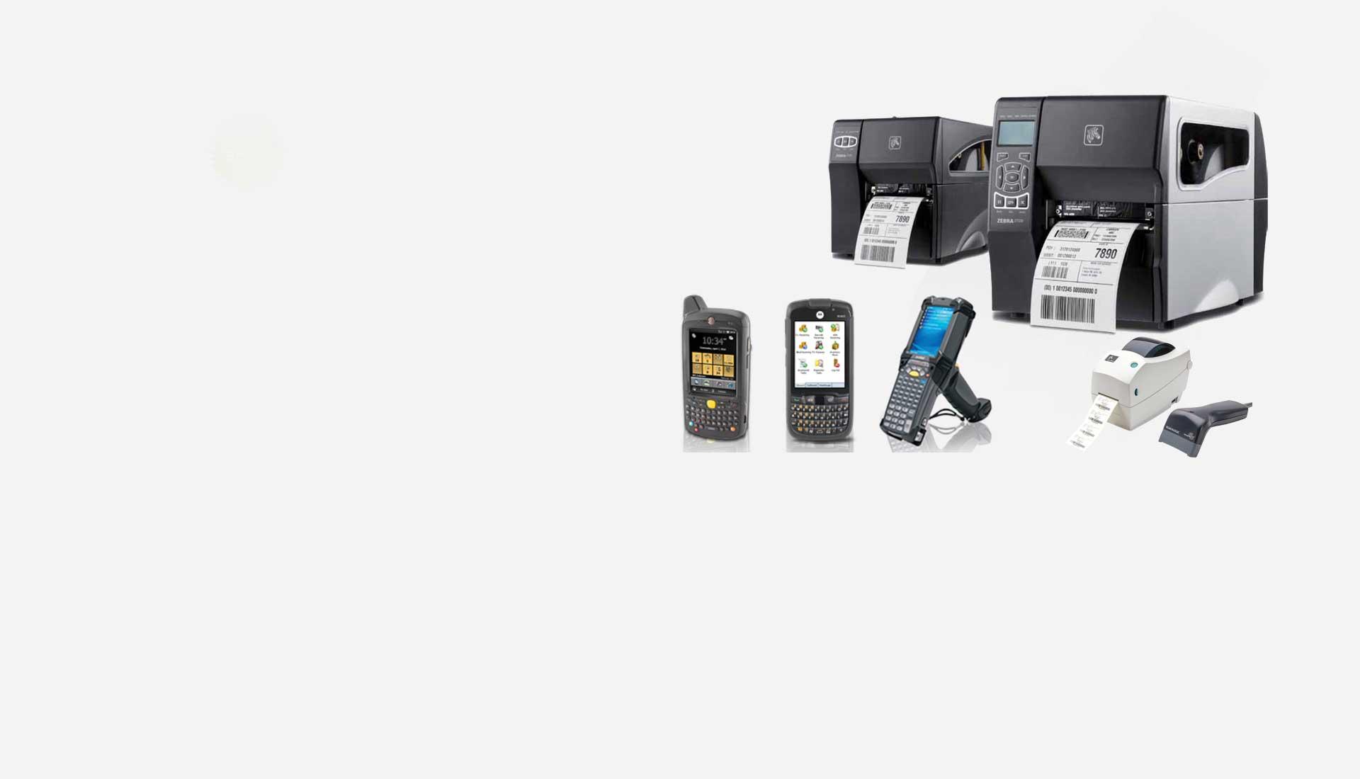 Barcode Printer, Scanner and PDA