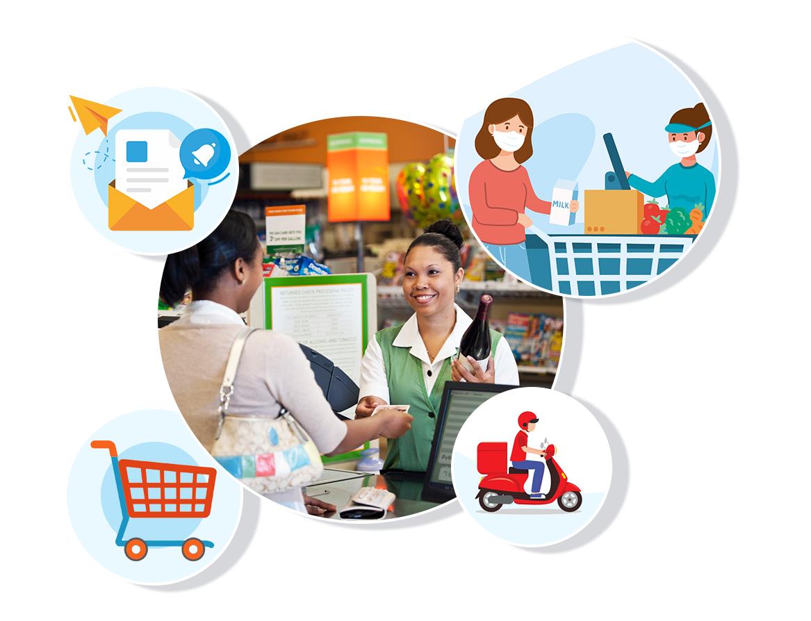 Supermarket POS software dubai
