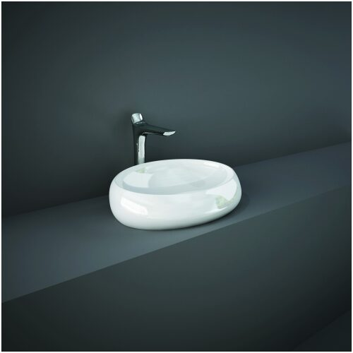 RAK Cloud Countertop Wash Basin 580mm main image