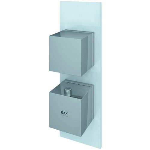 rak feeling square shower valve white