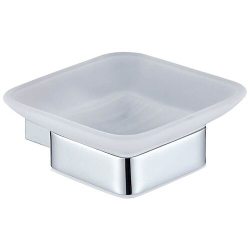 RAK MOON SOAP DISH CHROME MAIN IMAGE
