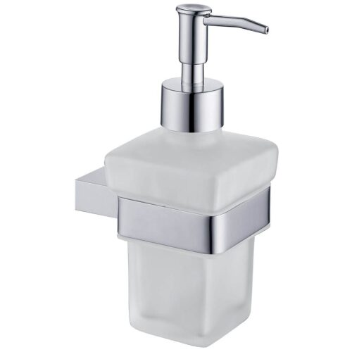rak moon soap dispenser chrome main image
