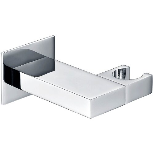 square shower handset wall holder main image
