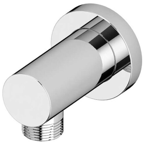round wall outlet chrome main image