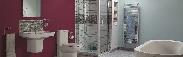 How to add a splash of colour to your bathroom