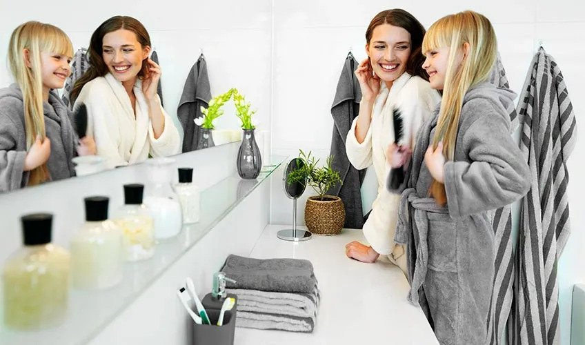 Store Items in Bathroom